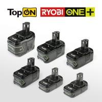 Новинки аккумуляторов TopON для электроинструмента Ryobi серии One+