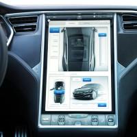 Дисплеи LG для автомобилей Tesla Motors