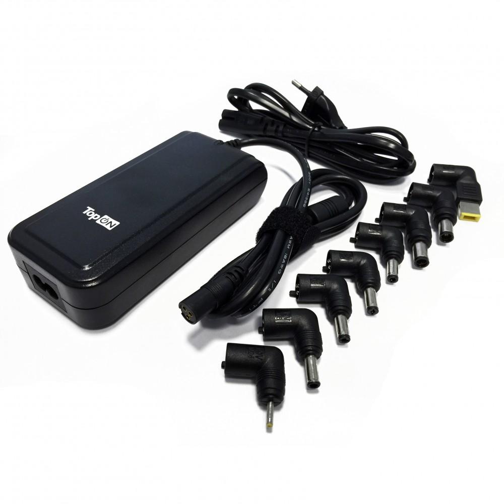 Купить оптом Блок питания TopON 90W универсальный 10V-24V 4.5A (8 коннекторов) с USB TOP-UNIV_8