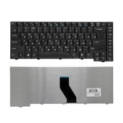 Клавиатура для ноутбука Acer Aspire 4710, 4720, 4220, 4230, 4310, 4520, 4710, 4900 Series. Плоский Enter. Черная, без рамки. PN: V072146AS1