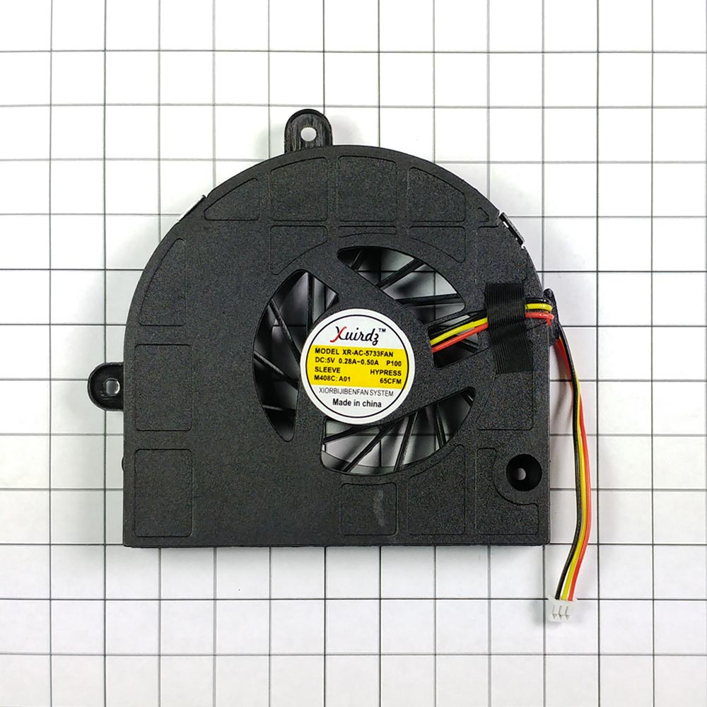 Вентилятор (кулер) для ноутбука Acer Aspire 5250, 5253, 5253G, 5333, 5336, 5733, 5733Z, 5736, 5736G,