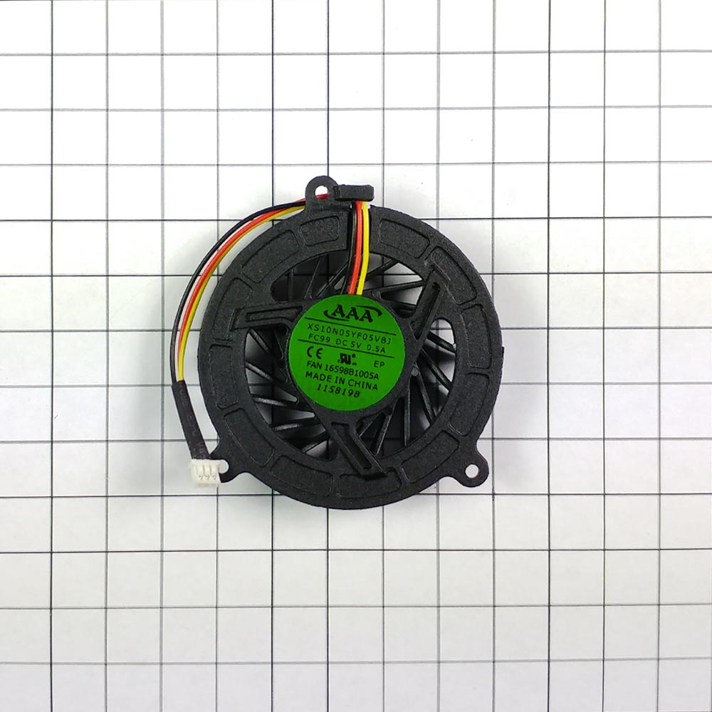Вентилятор (кулер) для ноутбука Asus A6, A8, F3, F8, F80, W3000, W3400, W3A, Z99 3 pin