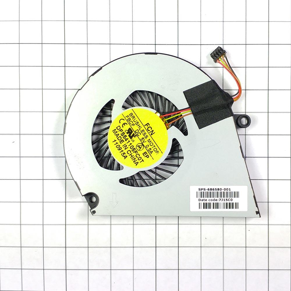Вентилятор (кулер) для ноутбука HP Envy 4 Envy 6, UltraBook 4-1000, 6-1200, 4t-1000, 6-1000