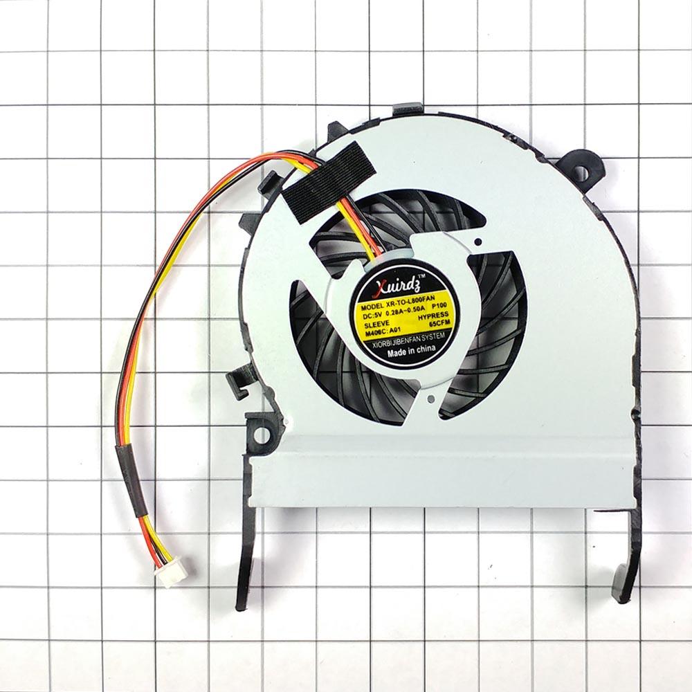 Вентилятор (кулер) для ноутбука Toshiba Satellite C800, L800, M800, M805, M840