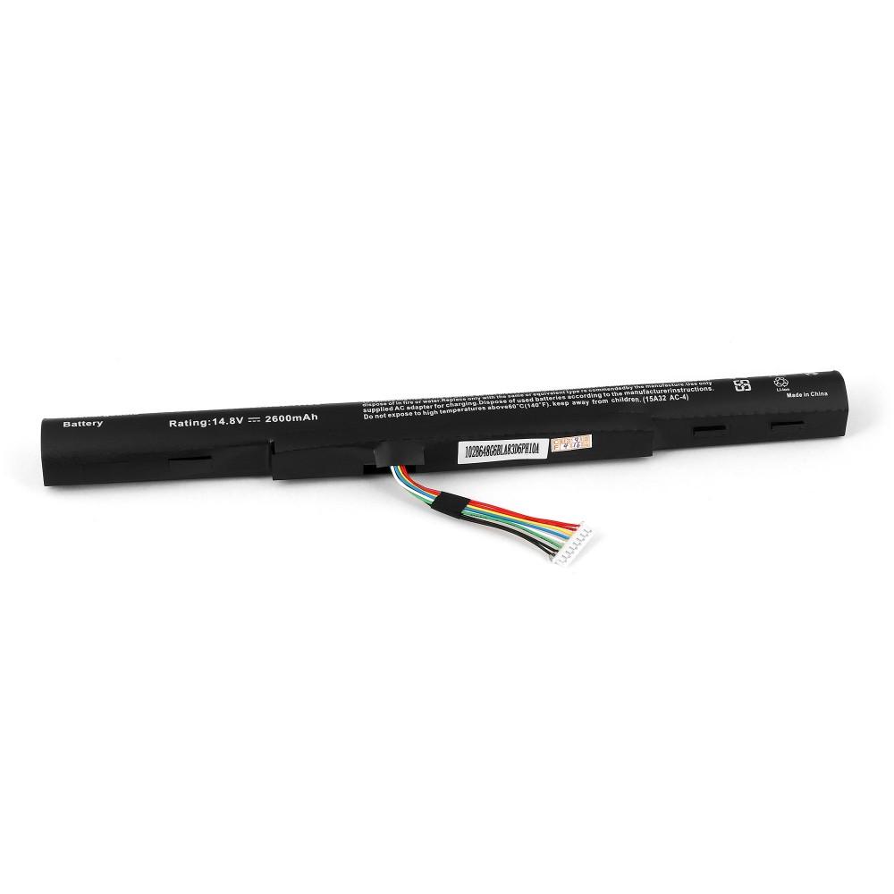 Купить оптом Аккумулятор для ноутбука Acer Aspire E5-422, E5-522, E5-722, ES1-420, ES1-421, V3-574 Series. 14.8V 2600mAh PN: AL15A32, 4ICR17/65.