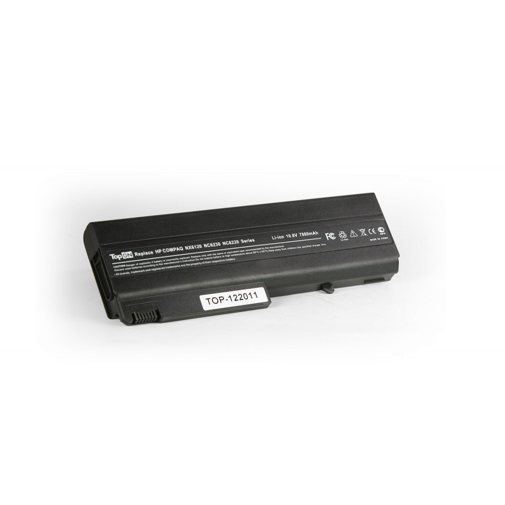 Аккумулятор для ноутбука усиленный HP Compaq nc6100, nc6200, nc6400, 6510, 6910, 6910p, nx6105, nx6300 Series. 11.1V 6600mAh PN: HSTNN-I05C, PB994A