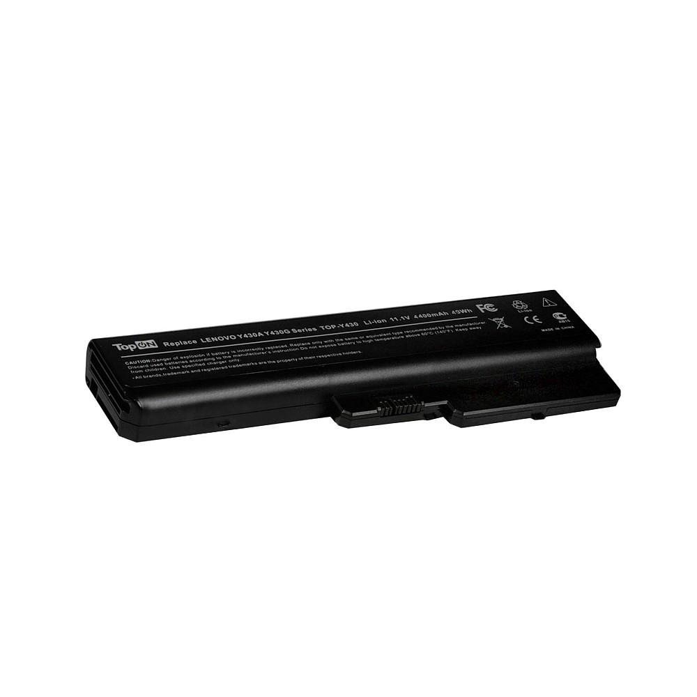 Аккумулятор для ноутбука Lenovo IdeaPad 3000 N500, V450, Y430, B430 Series. 11.1V 4400mAh 49Wh. PN: LO8O4C02, LO8L6C02