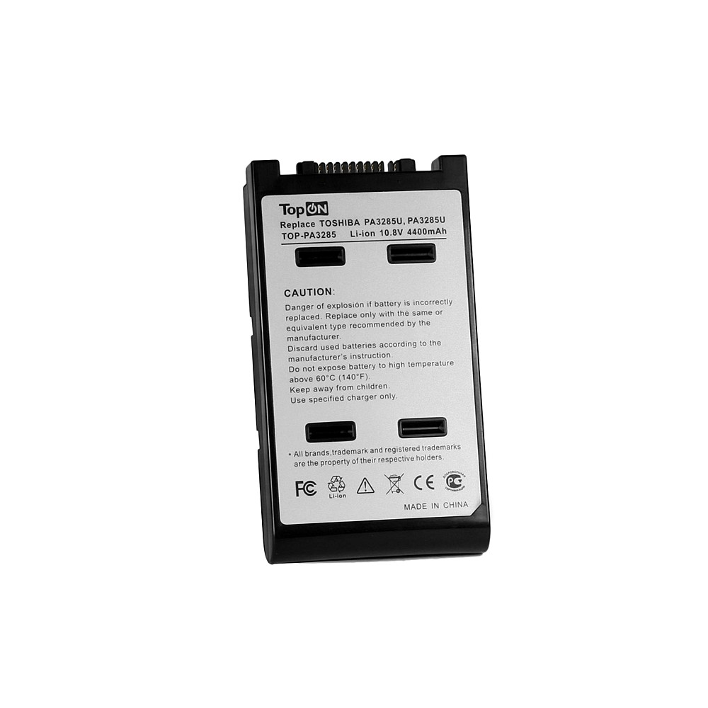 Аккумулятор для ноутбука Toshiba Satellite A10, A15, Tecra A8, Dynabook Satellite J60, K10 Series. 10.8V 4400mAh 48Wh. PN: PA3284U-1BAS, PABAS073