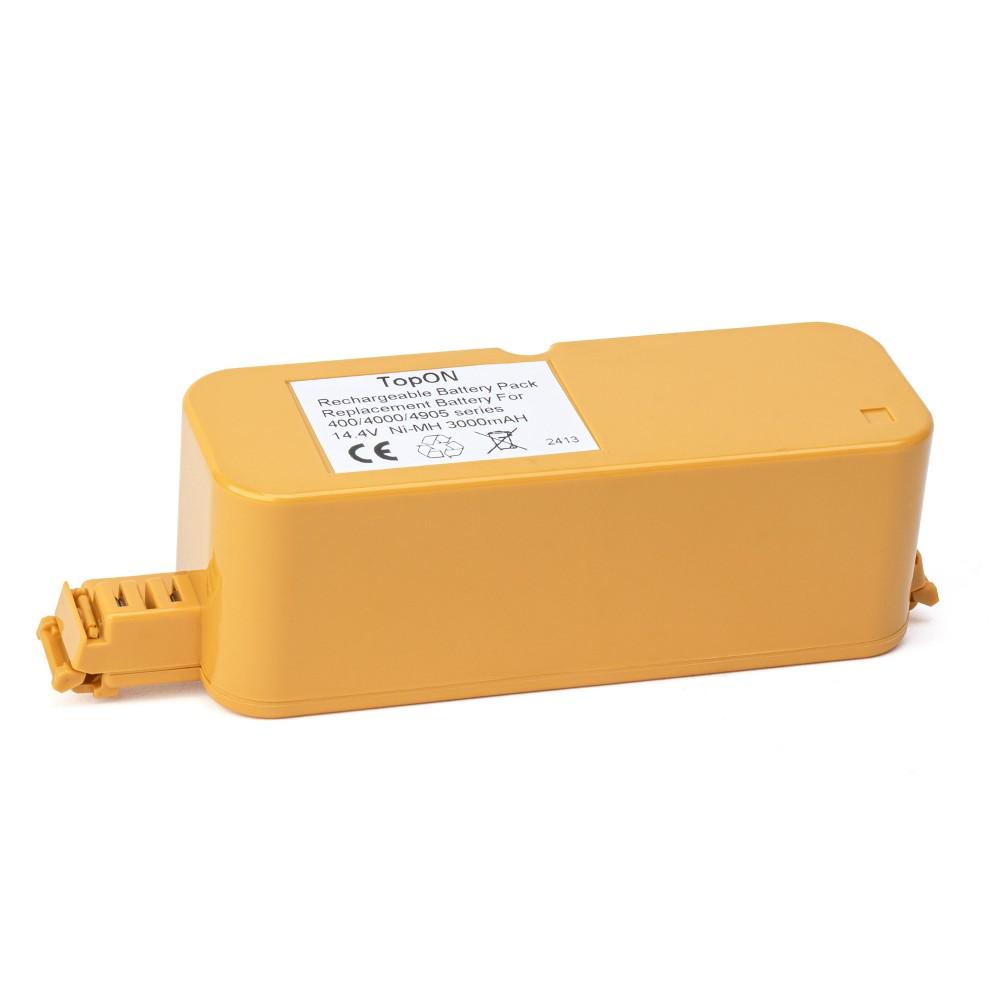 Аккумулятор для робота-пылесоса iRobot Roomba 400, 4000 Discovery, Dirt Dog, Create, FloorVac 400 Series. 14.4V 3000mAh Ni-MH. PN: 4905, 4978, 17373.