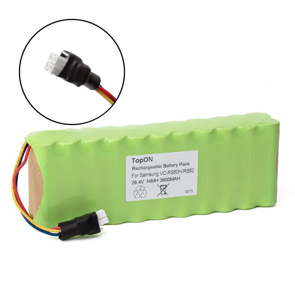 Аккумулятор для робота-пылесоса Samsung VC-RS60, VC-RS60H, VC-RS62, VC-RS62H Hauzen Series. 26.4V 3600mAh Ni-MH. PN: DJ96-0079A, EBVB-157_2QTY.