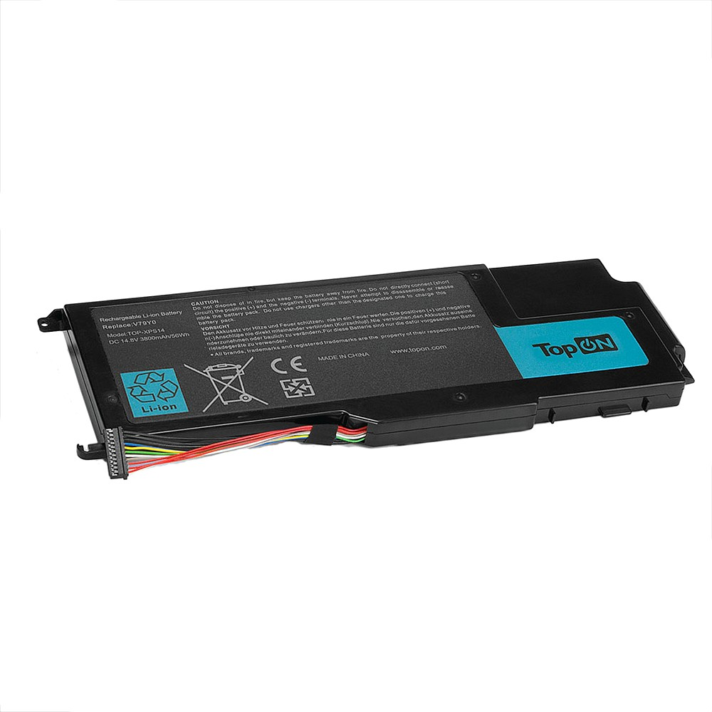 Аккумулятор для ноутбука Dell XPS 14Z, 15Z, L412Z, L511X, L511Z Series. 14.8V 3800mAh 56Wh. PN: NMV5C, V79Y0.