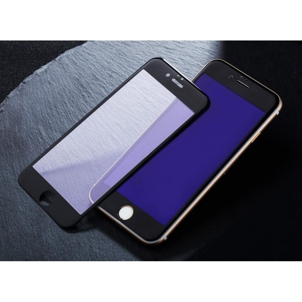 Защитное 3D стекло на экран для Apple iPhone 6 Plus с антибликовым и олеофобным покрытием Черный