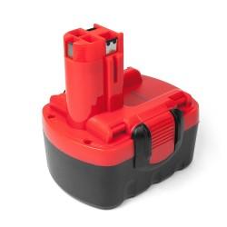 Аккумулятор для Bosch 14.4V 2.1Ah (Ni-Mh) GDR 14.4 V-LI, GHO 14.4 V-LI, GWS 14.4 V Series. PN: 2607335264, 2607335661, BAT159.