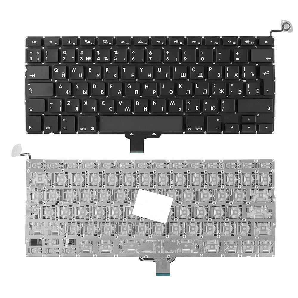 Клавиатура для ноутбука Apple Macbook Air A1304, A1237 Series. Г-образный Enter. Черная, без рамки. PN: A1304, A1237.