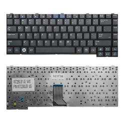 Клавиатура для ноутбука Samsung R403, R408, R410 Series. Плоский Enter. Черная, без рамки. US. PN: BA59-02247C, BA59-02247D.