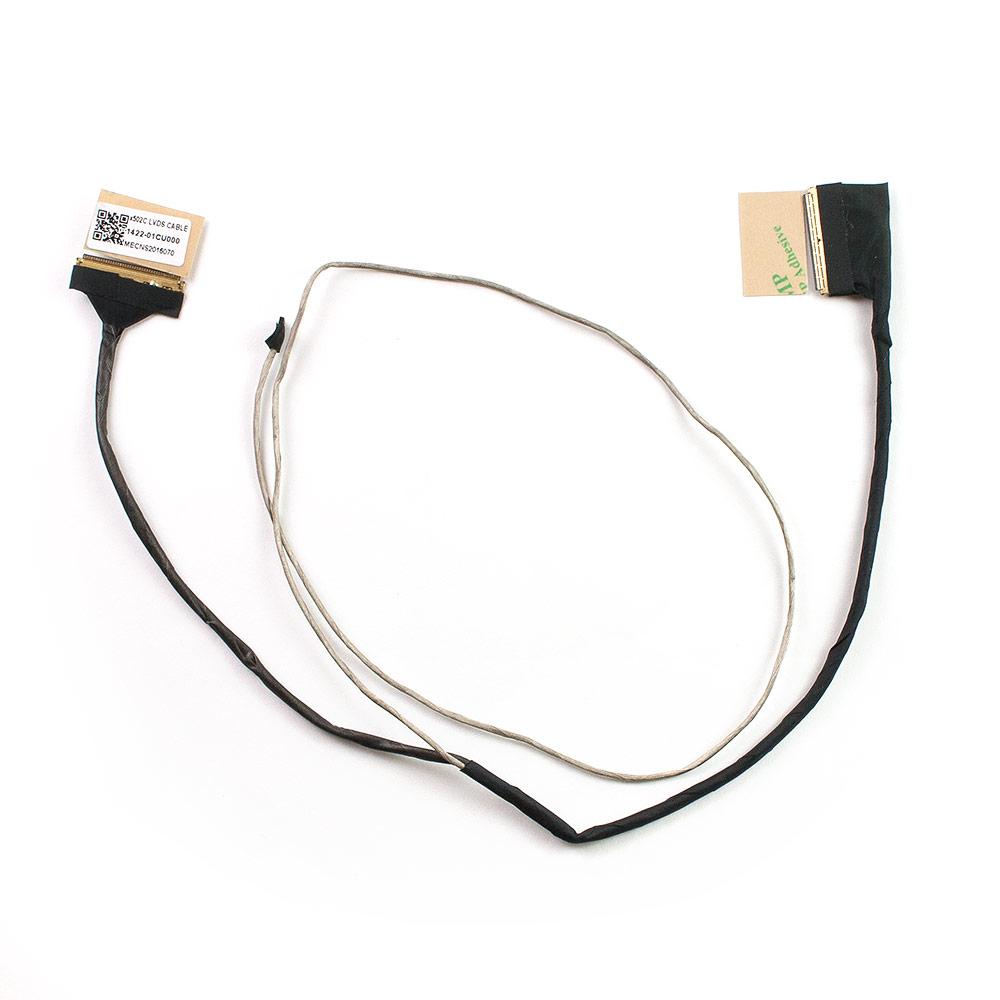 Шлейф матрицы 40 pin для ноутбука Asus X502C, F502C, F502CA, X502, X502CA Series. PN: 1422-01CU000, 1422-01D5000, 1422-01DK000, 14005-00840000