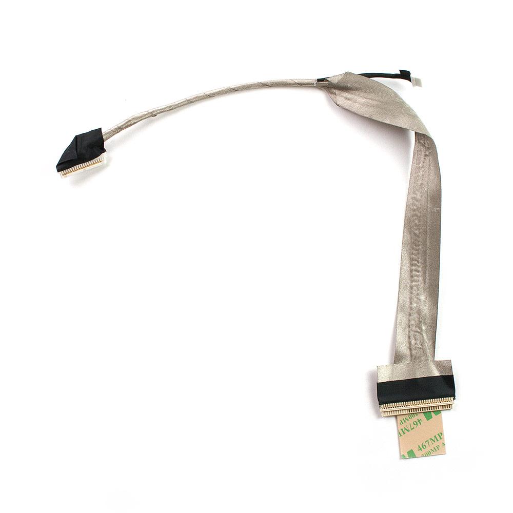Шлейф матрицы 30 pin для ноутбука Acer Aspire 5241, 5516, 5517 Series. Без вебкамеры. PN: DC02000SS00, 50.N3202.001