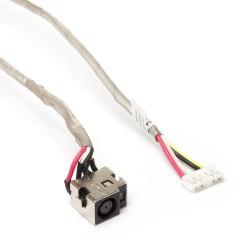 Разъем питания PJ106 для ноутбука HP Pavilion DV7-1000, DV7T-1000 Series. 7.4x5.0 mm с иглой. С кабелем 24 см. PN: DC301003H00 Rev.1.0, DC301004S00.