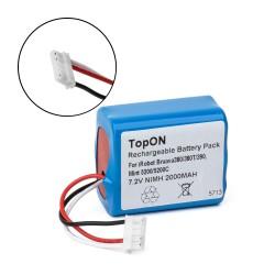 Аккумулятор для робота-пылесоса iRobot Braava 380, 380T, 390, Mint Plus 5200, 5200C Series. 7.2V 2200mAh Ni-MH. PN: 4409709, GPRHC202N026.