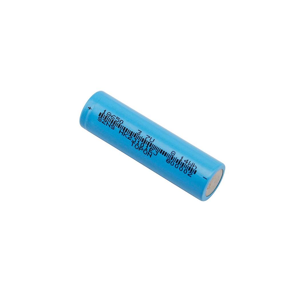 Аккумулятор 18650 TopON 3.7V 2200mAh 8.14Wh, 10A. Li-Ion, без защиты. Замена ICR18650-22, CRG18650, LGAAS41865