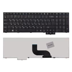 Клавиатура для ноутбука Acer TravelMate 5760, 7750, 6595TG Series. Плоский Enter. Черная, без рамки. PN: 9Z.N6SSQ.00R.