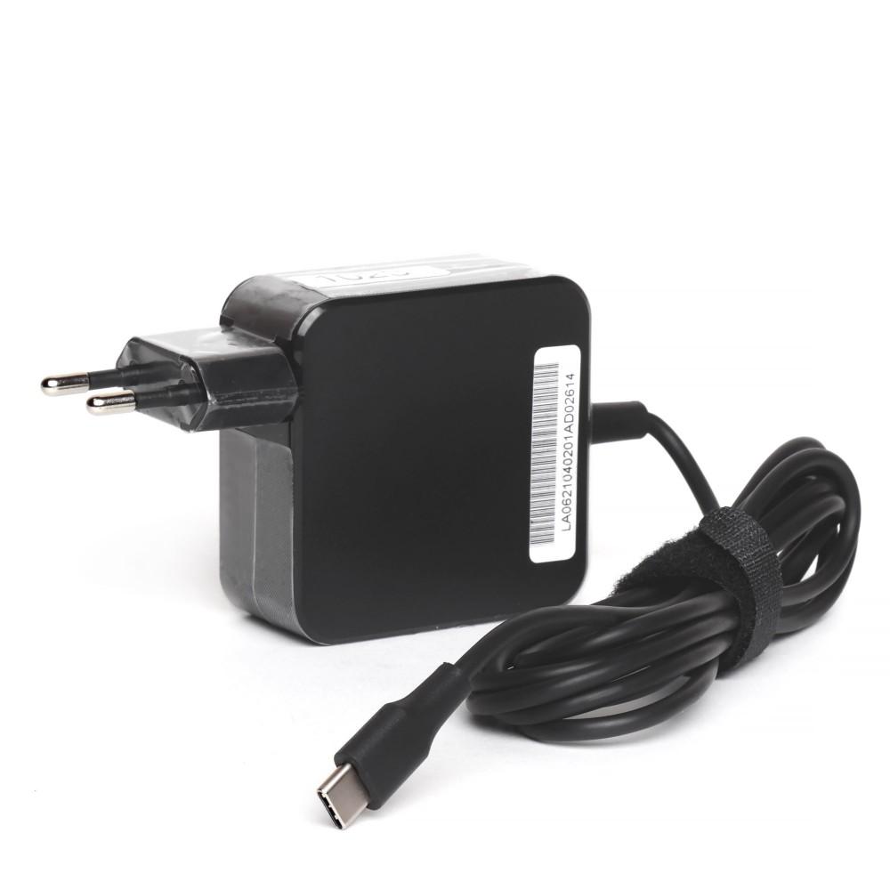 Универсальный блок питания 45W c разъемом Type-C, PowerDelivery 3.0, в розетку.  Кабель 240 см.