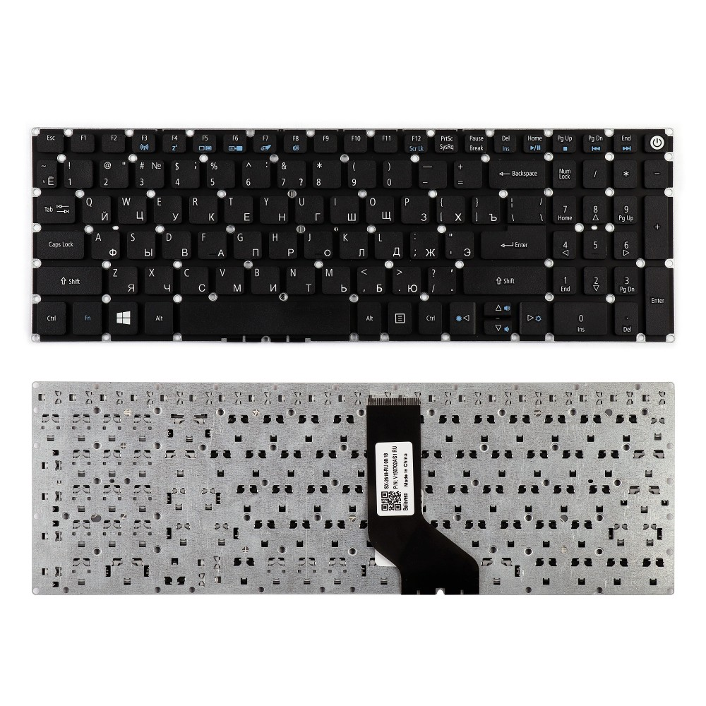 Клавиатура для ноутбука Acer Aspire Acer Aspire E5-522, E5-522G, E5-573, E5-573G AEZRT700010