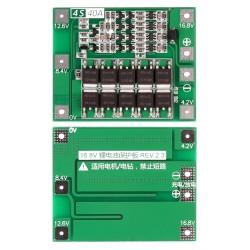 BMS-контроллер 4S/40A для Li-Ion ячеек 3.7V 18650, 26650.