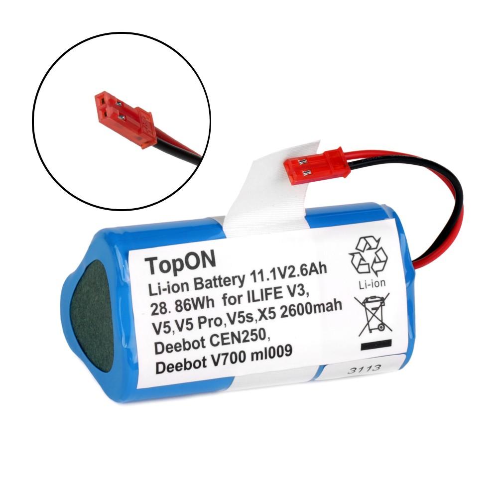 Купить оптом Аккумулятор для робота-пылесоса Chuwi ilife V3, V3s, V3s Pro, V5, V5 PRO, V5S, CW310, X5. 11.1V 2.6Ah (Li-ion) PN: CS-EPV300VX.