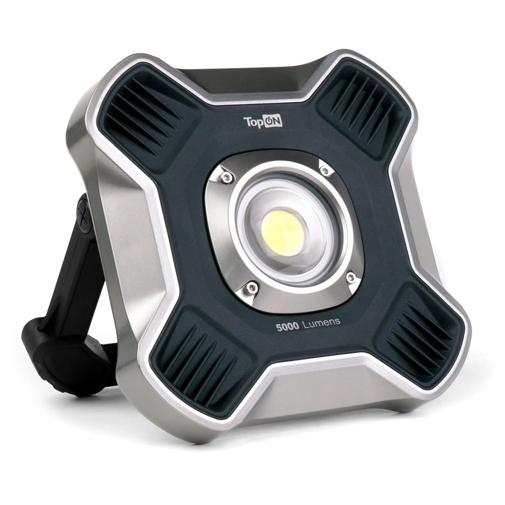 Купить оптом Аккумуляторный фонарь TopON TOP-MX5 LED 50 Вт 5000 лм 14.6 В 4.0 Ач 58.4 Втч