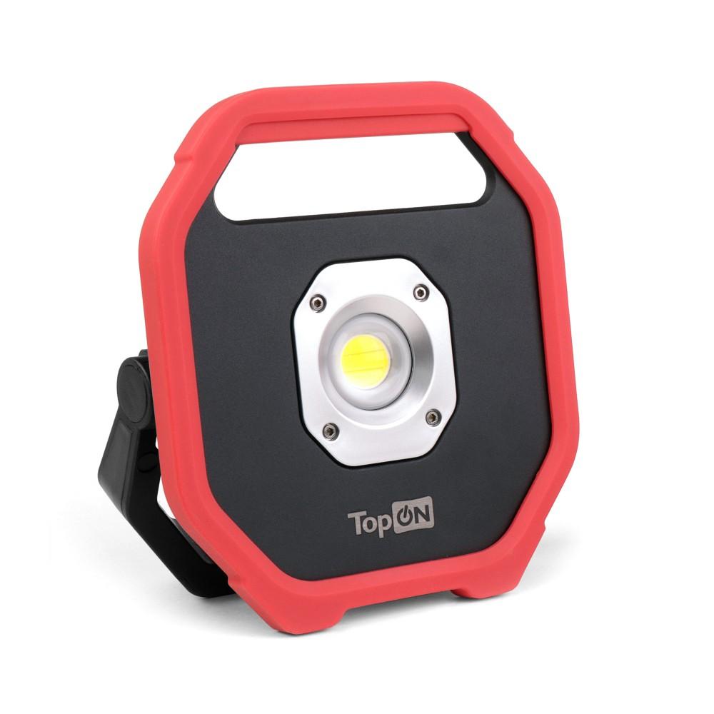 Купить оптом Аккумуляторный фонарь TopON TOP-MX1MG LED 10 Вт 1100 лм 3.7 В 4.4 Ач 16.3 Втч магнитное крепление