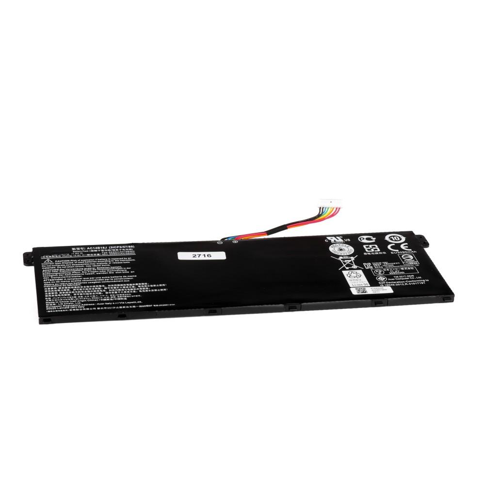 Купить оптом Аккумулятор для ноутбука Acer V3-111, E3-111, E3-112, ES1-511 Series. 11.31V 3246mAh PN: AC14B18J
