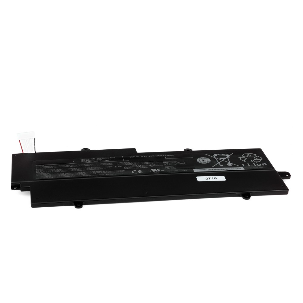 Купить оптом Аккумулятор для ноутбука Toshiba Portege Z830, Z835, Z930, Z935 Series. 14.8V 3060mAh PN: CS-TOZ830NB.