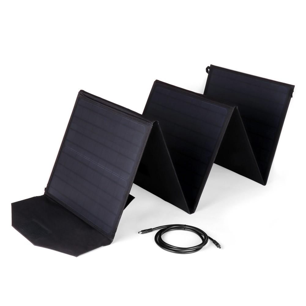Купить оптом Солнечная панель TOP-SOLAR 100W 18V DC, 2 USB, влагозащищенная, складная на 5 секций