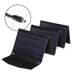 Солнечная панель TOP-SOLAR-42 42W 18V DC, влагозащищенная, складная на 6 секций