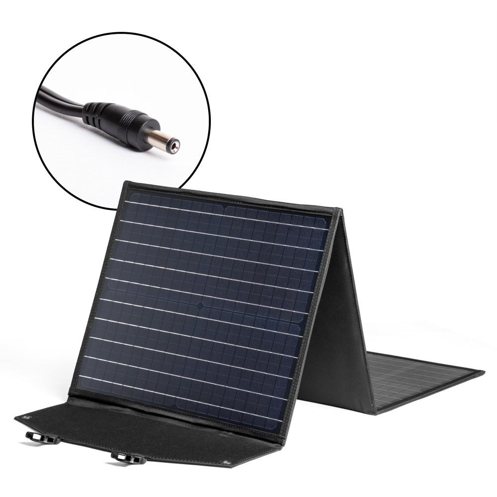 Купить оптом Солнечная панель TOP-SOLAR-63 60W 18V DC, влагозащищенная, складная на 3 секции