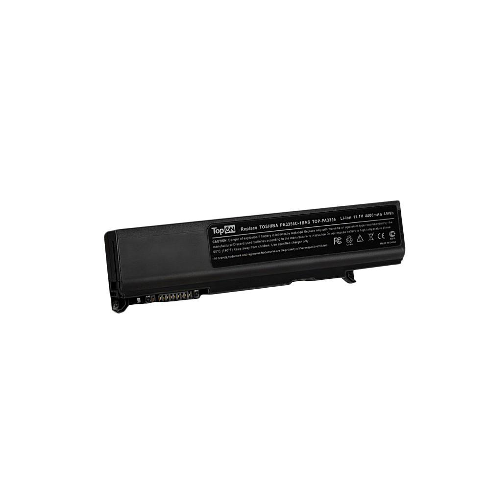 Аккумулятор для ноутбука Toshiba Satellite Pro A50, K21, T10, Tecra A2, M2, P5, S3 Series. 11.1V 4400mAh 49Wh. PN: PA3356U-1BAS, PABAS066.