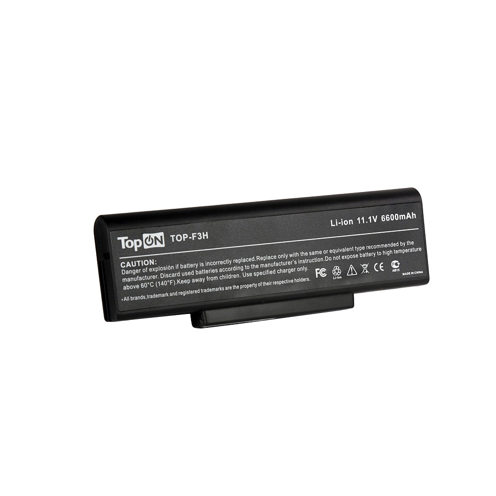 Аккумулятор для ноутбука Asus M51, F3, F7, A9, Z53, X56, K73, N72 Series. 11.1V 6600mAh 73Wh, усиленный. PN: A32-Z94, A32-F3.
