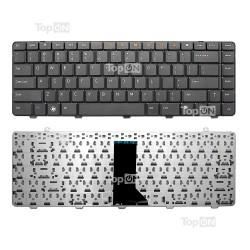 _Клавиатура для ноутбука Dell Inspiron 1464 Series. Плоский Enter. Черная без рамки.