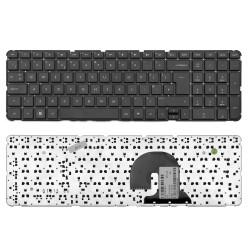 Клавиатура для ноутбука HP Pavilion DV7-4000, DV7-5000 Series. Плоский Enter. Черная без рамки.