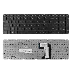 Клавиатура для ноутбука HP Pavilion G7-2000, G7-2100, G7-2200, G7-2300 Series. Плоский Enter. Черная, без рамки. US. PN: MP-11N13US-920, 674286-001.