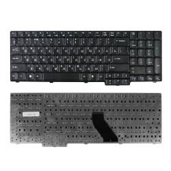 Клавиатура для ноутбука Acer Aspire 5335, 5535, 5735, 5737 TravelMate 5110, 7510 Series. Плоский Enter. Черная, без рамки. PN: NSK-AFT0R, 9J.N8782.R0R