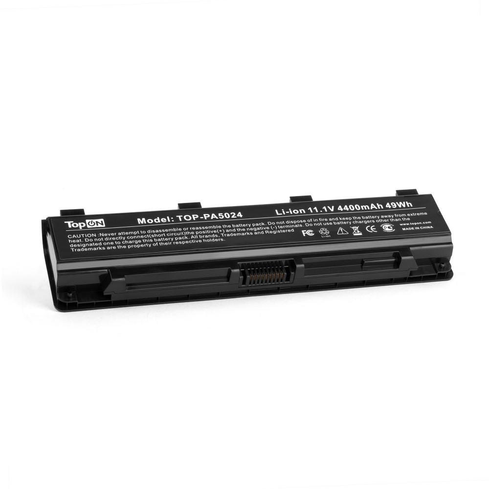 Аккумулятор для ноутбука Toshiba Satellite C50, C840, L875, M800, P800, S855 Series. 10.8V 4400mAh 48Wh. PN: PA5023, PA5024U.