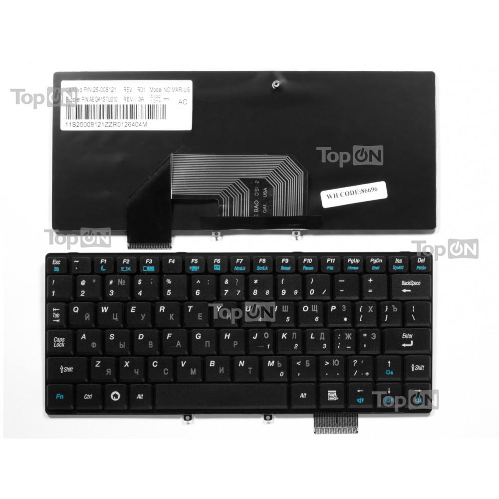 Клавиатура для ноутбука Lenovo IdeaPad S9 S10 Series. Черная.
