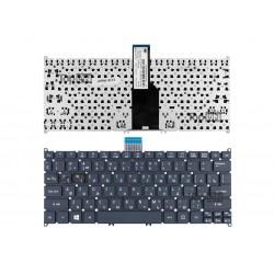 Клавиатура для ноутбука Acer Aspire One Acer Aspire S3, S5, One 756, TravelMate B1 Series. Г-образный Enter. Черная, без рамки. PN: 9Z.N7WPW.20R.