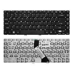 Клавиатура для ноутбука Acer Aspire V5-431, V5-471, M3-481 Series. Г-образный Enter. Черная, без рамки. US PN: NSK-R24SW 0R.