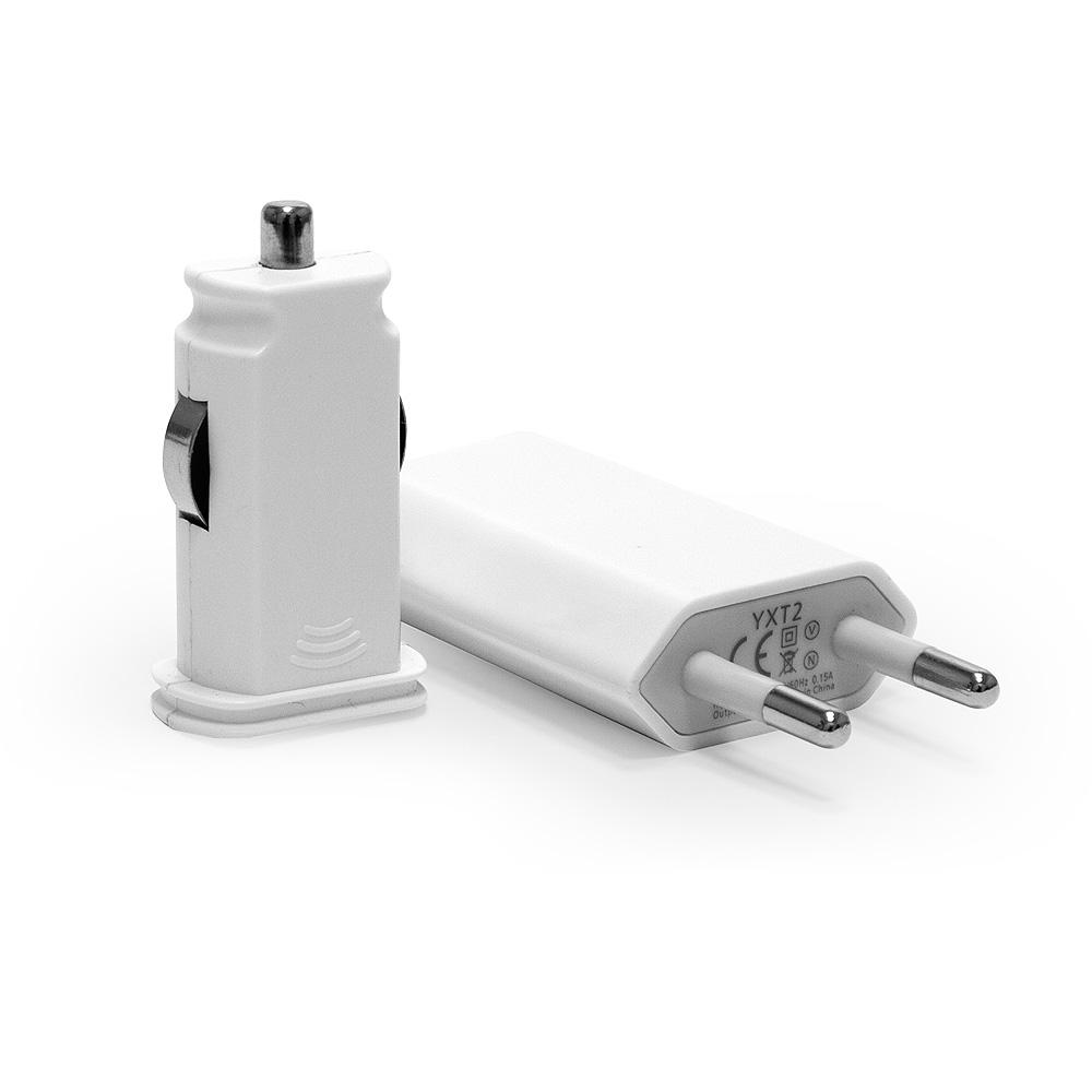 Набор для зарядки Apple iPhone, iPad, Samsung Galaxy, Xiaomi, Huawei, LG, Sony и др. Замена: MD813ZM, MD836ZM. Белый.