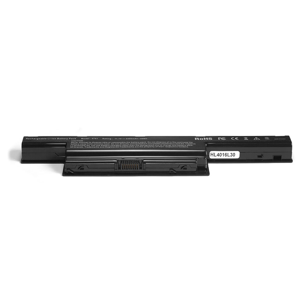 Аккумулятор для ноутбука Acer Aspire 4551G, 5551, 5750G, V3, TravelMate 4750, 5740G, 7750G Series. 10.8V 4400mAh PN: AS10D31, AS10D3E