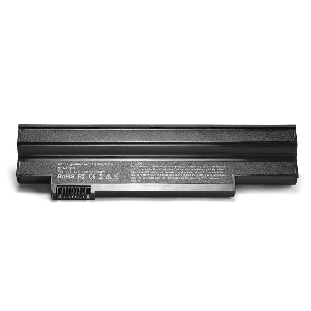 Аккумулятор для ноутбука Acer Aspire One 532h, NAV50 Series. 11.1V 4400mAh PN: UM09H75, LC32SD128