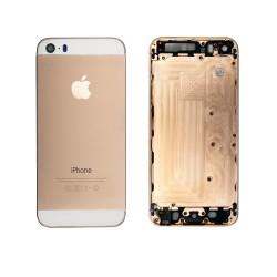 Задняя панель, корпус для смартфона Apple iPhone 5S, A+. Золотая.